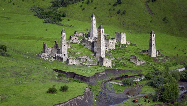 Вайнахские башни. Архивное фото