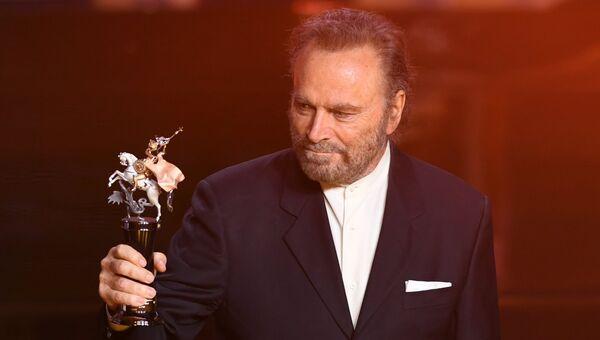 Итальянский актёр Франко Неро на церемонии открытия 39-го Московского международного кинофестиваля в Москве