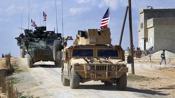 Силы США в Сирии близ Алеппо