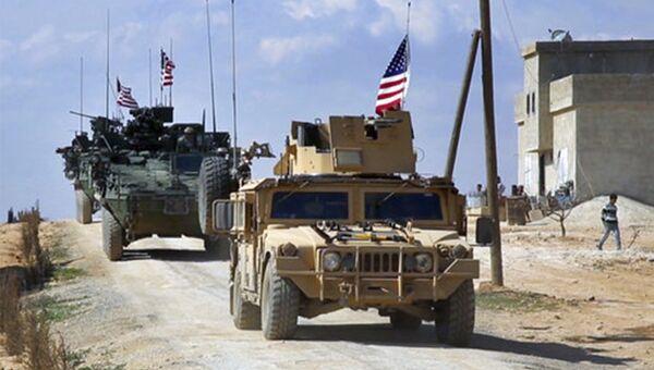 Силы США в Сирии. Архивное фото