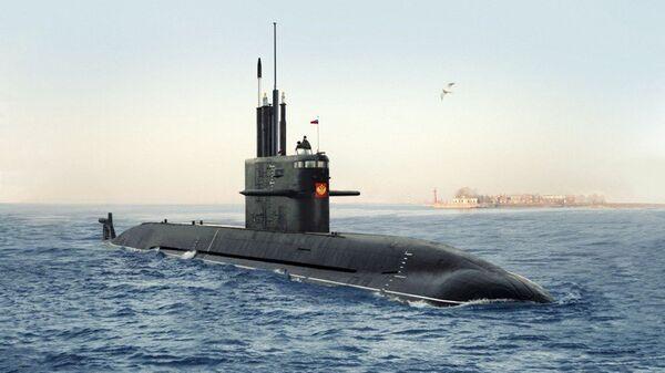 Проект подводной лодки Амур 1650