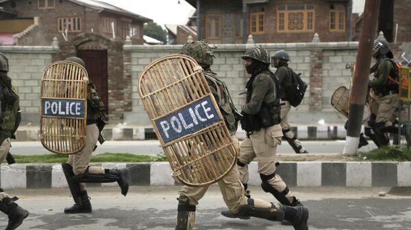 Военизированные силы Индии в Кашмире