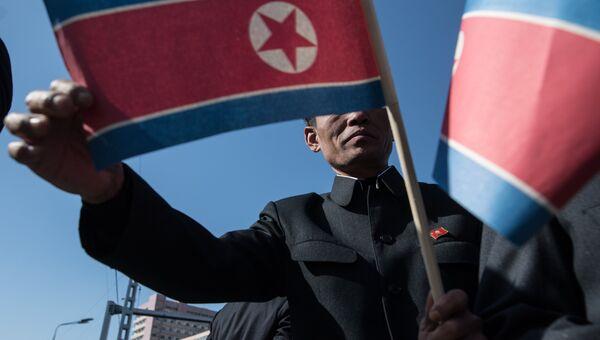 Ситуация на Корейском полуострове. Архивное фото