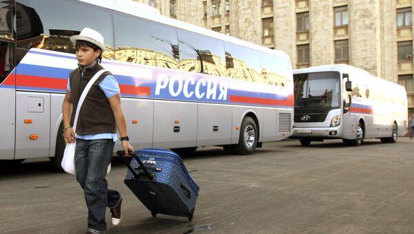 Детские автобусы. Архивное фото