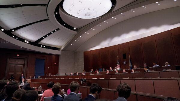 Слушания о предположительном вмешательстве России в президентские выборы США в Вашингтоне. 21 июня 2017
