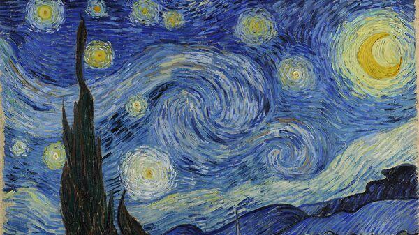 Винсент Ван Гог, Звездная ночь. 1889