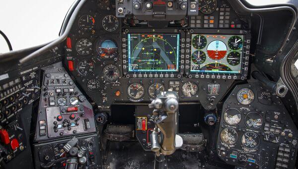 Приборная доска транспортно-боевого вертолета Ми-35М