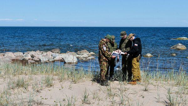 Команда экспедиции также ищет на островах интересные военно-технические артефакты