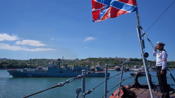 Новый фрегат Черноморского флота Адмирал Эссен