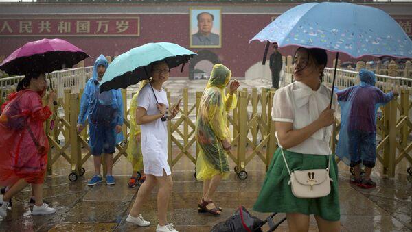 Дождь в Пекине. Архивное фото