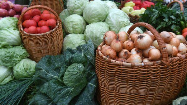 Овощи. Архивное фото.