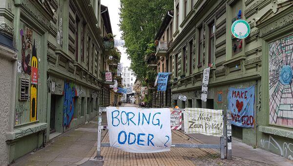 Ситуация на улицах Гамбурга во время саммита G20