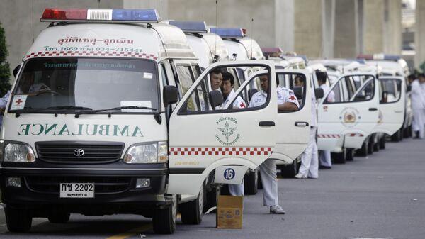 Машины скорой помощи в Таиланде. Архивное фото
