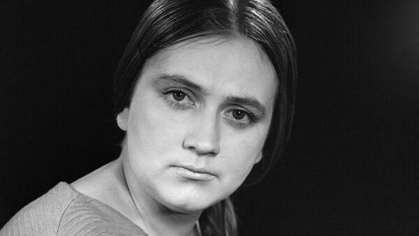 Актриса Ирина Бунина