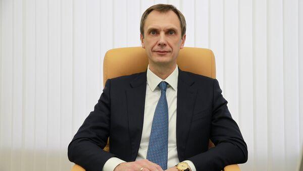 Старший вице-президент, директор департамента сети ВТБ24 Вячеслав Грицаенко. Архивное фото