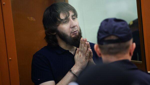 Заур Дадаев во время оглашения приговора по делу об убийстве Бориса Немцова. 13 июля 2017