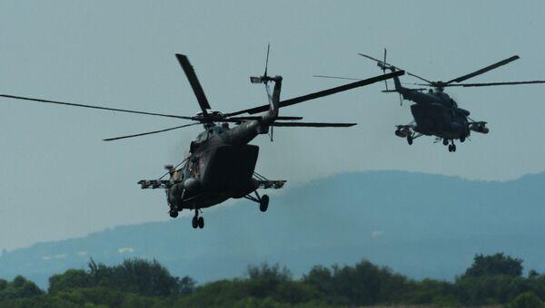 Вертолеты. Архивное фото