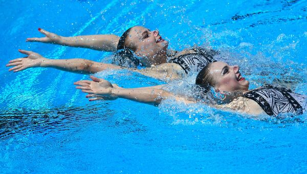 Чемпионат мира FINA 2017. Синхронное плавание. Дуэт. Техническая программа. Финал
