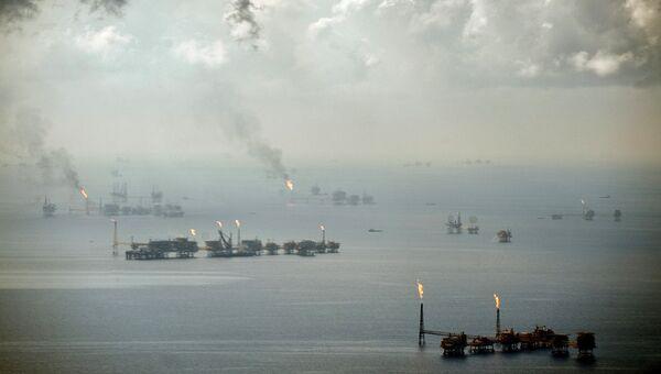 Добыча нефти в Мексиканском заливе