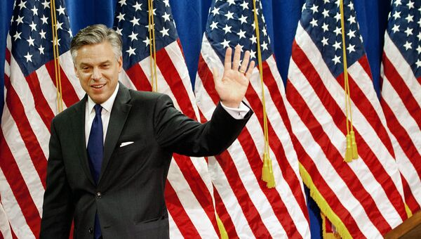 Кандидат на пост посла США в РФ Джон Хантсман. Архивное фото