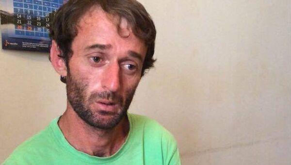 Один из братьев Джинджолия, подозреваемых в убийстве русского туриста Андрея Кабанова