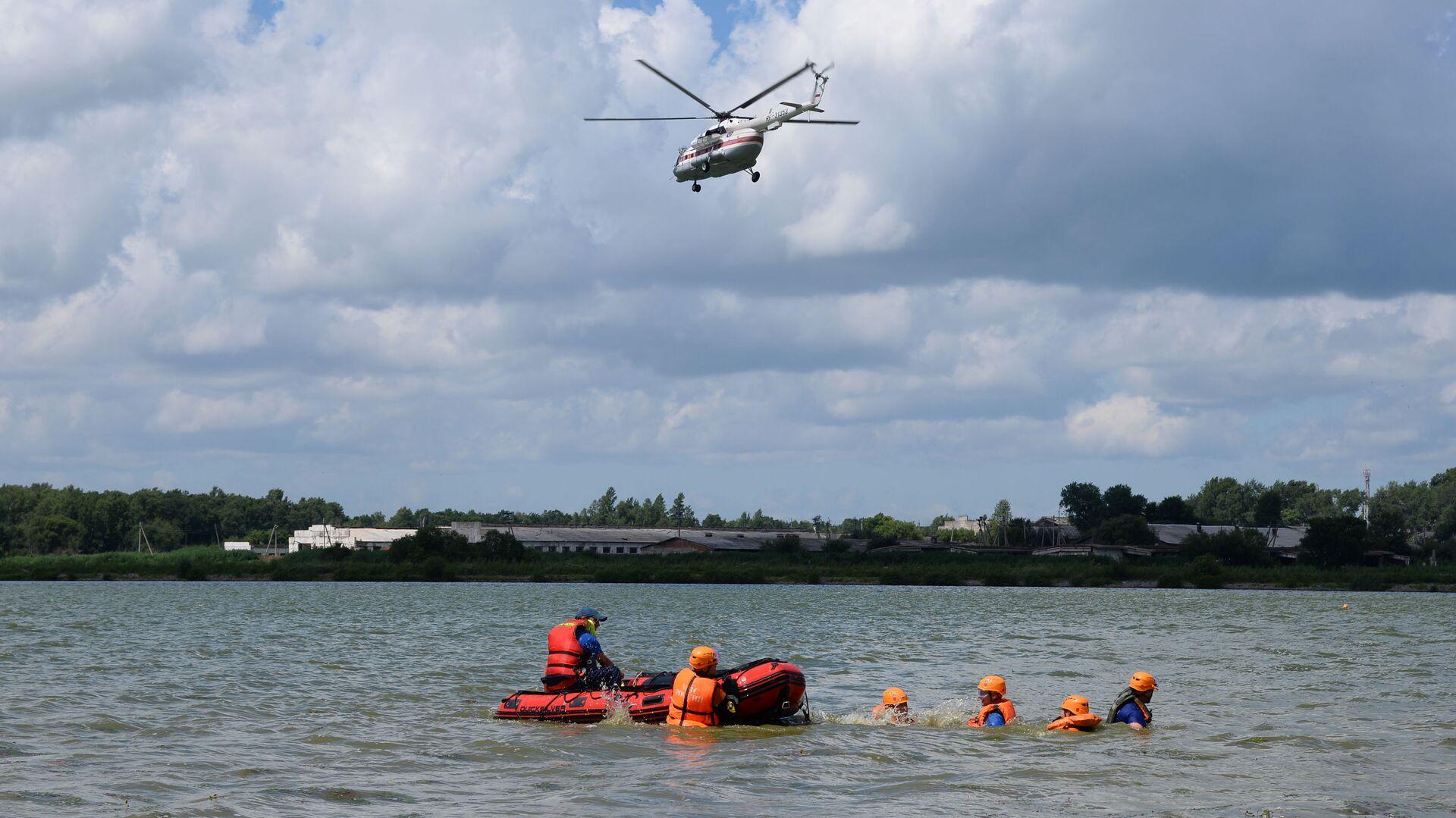 В Хабаровском крае нашли пропавших при сплаве туристов
