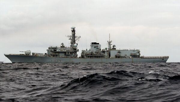 Британский военный корабль HMS Richmond. Архивное фото.