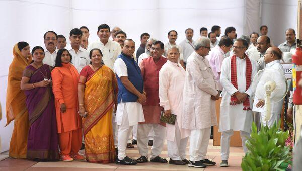Индийские парламентарии. Архивное фото