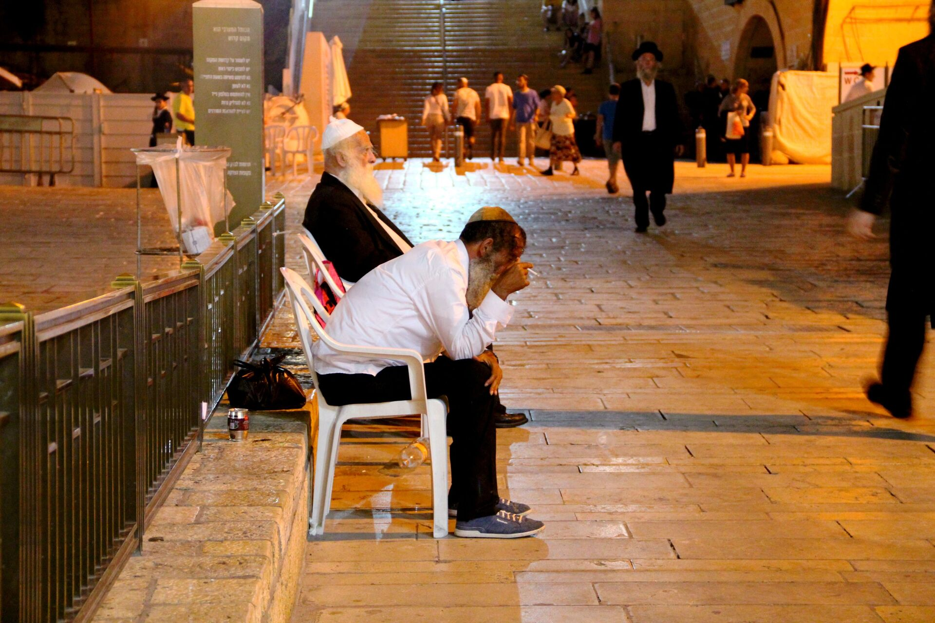 Верующий иудей возле Стены плача в Иерусалиме - РИА Новости, 1920, 03.02.2021