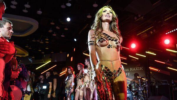 Участница финального ежегодного всероссийского конкурса Miss Maxim 2017 Кристина Чебан (Чита)