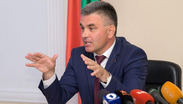 Глава ПМР Вадим Красносельский. Архивное фото