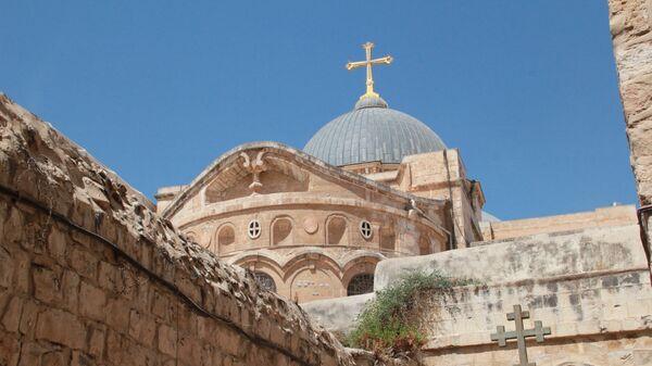 Храм Гроба Господня в Иерусалиме. Архивное фото