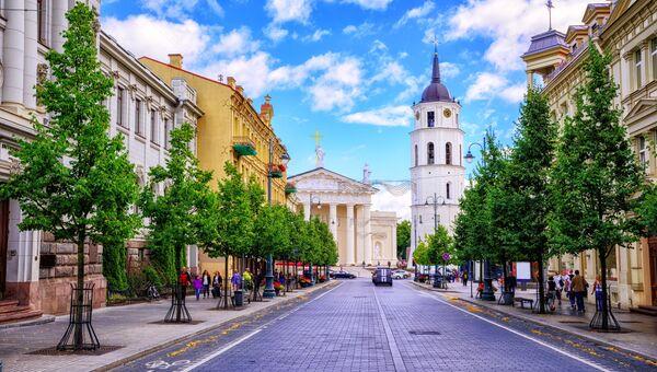 Город Вильнюс, Литва. Архивное фото