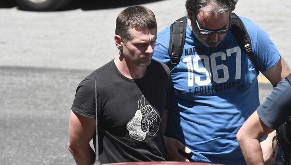Россиянин Александр Винник, задержанный в Греции по подозрению в отмывании денег. Архивное фото