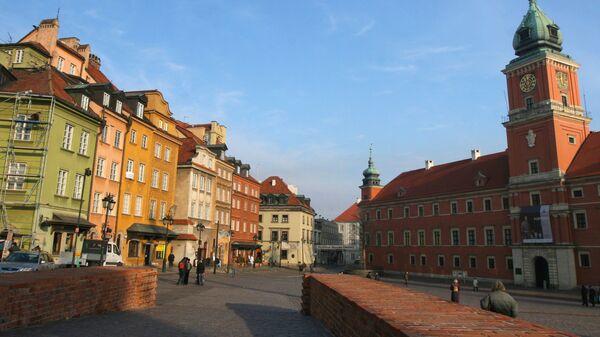 Дворцовая площадь в Варшаве. Архивное фото