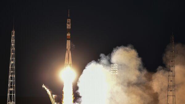 Запуск пилотируемого корабля к МКС