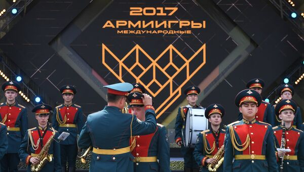 Церемония открытия Армейских международных игр АрМИ-2017