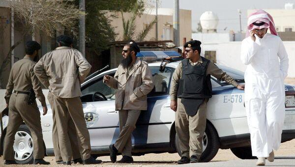 Полицейские в Саудовской Аравии. Архивное фото