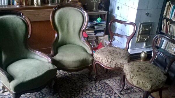 Мебель, пропавшая из королевского дворца в Варшаве во время Первой мировой войны