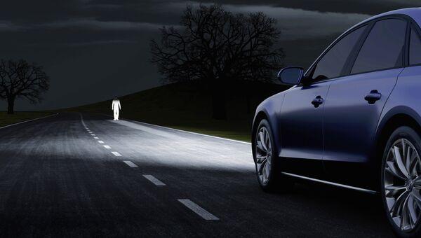 Свет фар Audi
