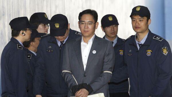 Глава южнокорейской корпорации Samsung Ли Чжэ Ён. Архивное фото