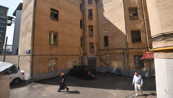 Четырехэтажный жилой дом в Москве, включенный в программу реновации