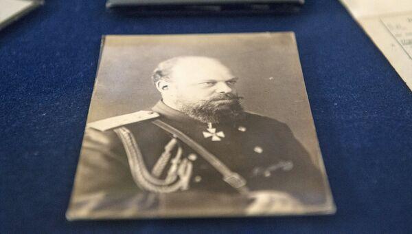 Фотография императора Александра III - документ из архива семьи Романовых, переданного музею-заповеднику Царское село