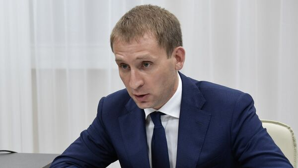 Губернатор Амурской области Александр Козлов. Архивное фото