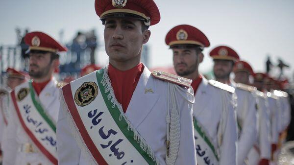 Иранские военнослужащие. Архивное фото
