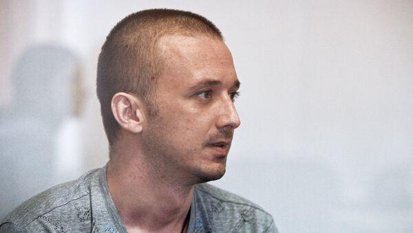 Максим Одинцов на заседании Дарницкого районного суда Киева. Архивное фото