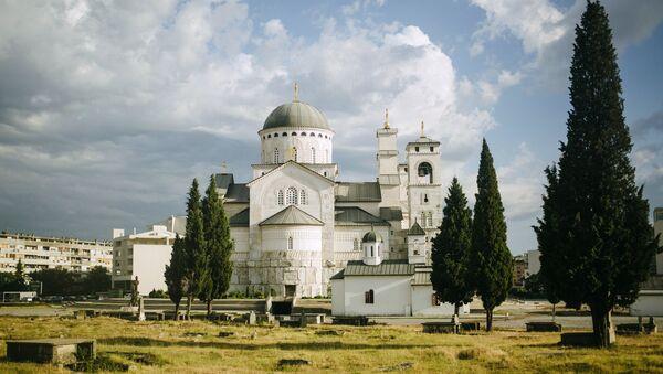 Кафедральный храм Воскресения Христова в Подгорице
