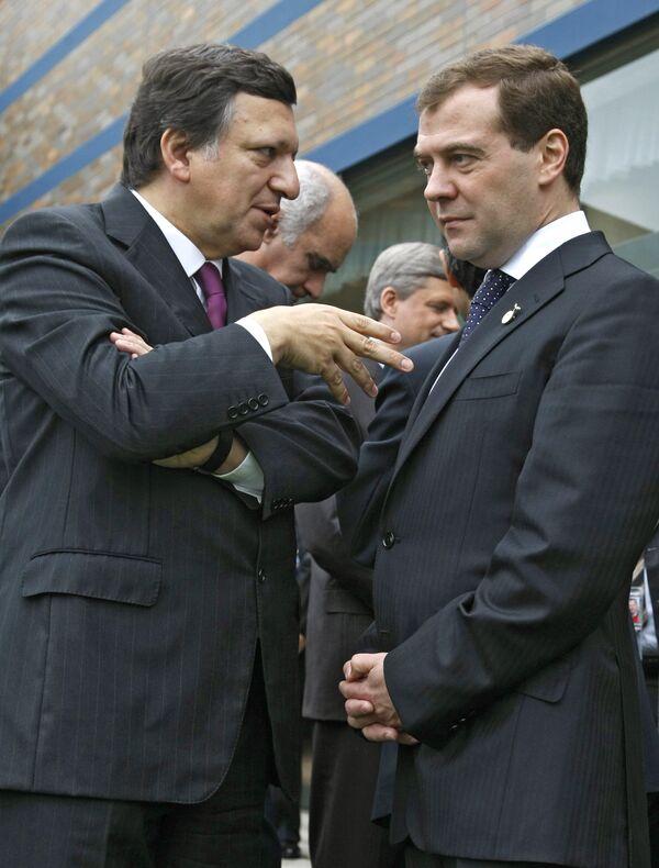 Председатель Комиссии Европейских сообществ Жозе Мануэл Баррозу