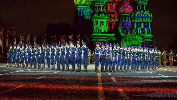 Оркестр из Белоруссии на фестивале Спасская башня