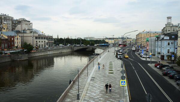 Якиманская набережная в Москве